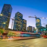 Construction happening in Downtown Houston that required project collaboration to support project scope delivery by reset to grow in houston, texas.