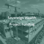Construction site project scope accelerated using sovereign wealth funding by reset in houston, texas.