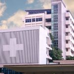 Hospital supported by the healthcare supply chain to serve patients